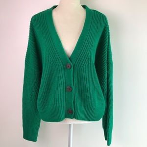 L.A Hearts PacSun Slouchy Cropped Cardigan